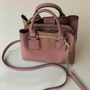 Steve Madden cross body versitile purse- soft pink